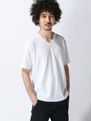 Men's Bigi (メンズ ビギ) - MEN'S BIGI SOLATINA 別注Vネックシャツ メンズ ビギ カットソー