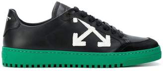 Off-White arrow patch sneakers