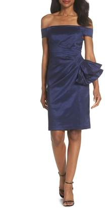 Eliza J Off the Shoulder Bow Dress