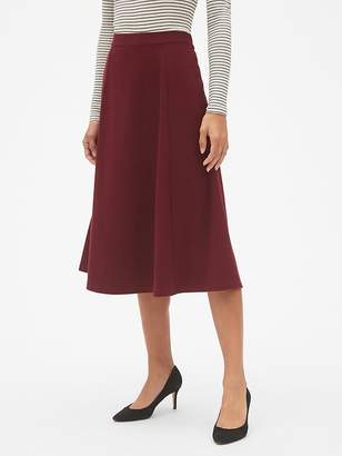 Gap Midi Circle Skirt in Ponte