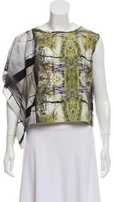Zero Maria Cornejo Printed Crop Top