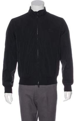 Burberry Exploded Check-Lined Bomber Jacket black Exploded Check-Lined Bomber Jacket