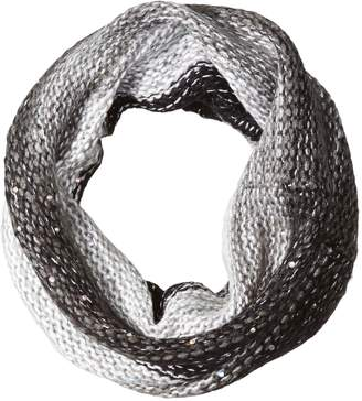 Betsey Johnson Women's Crystal Light Snood Scarf