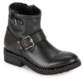 Ash Speed Leather Ankle Boots