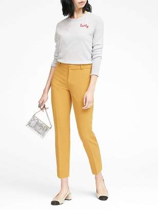 Banana Republic Petite Avery Straight-Fit Ankle Pant