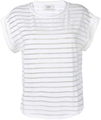 Snobby Sheep striped sheer top