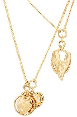Givenchy Women's Heart Fusion Layered Necklace
