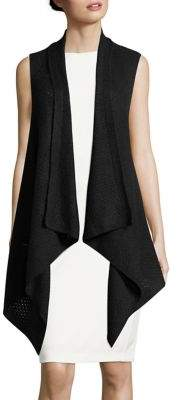 Lord & Taylor Cashmere Shawl Vest
