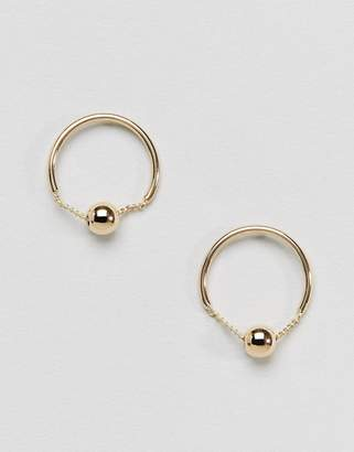 Pieces Circle Stud Earrings