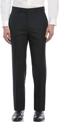 Lauren Ralph Lauren Black Front Front Wool Pants