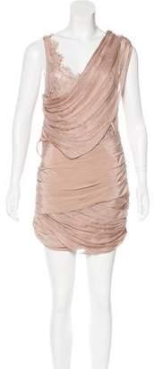 Madison Marcus Knee-Length Silk Dress