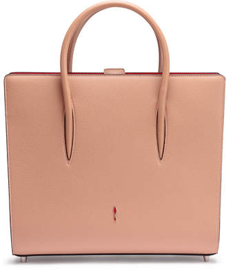 Christian Louboutin Paloma Large beige leather tote bag