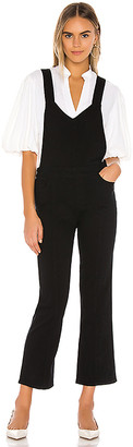 Paige Atley Ankle Flare Overall with Seaming