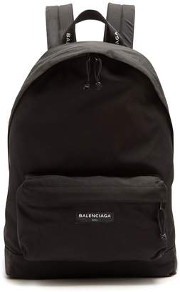 Balenciaga Explorer coated-canvas backpack