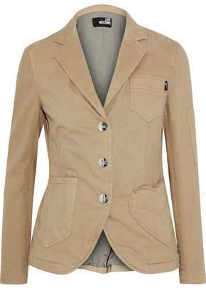 Love Moschino Cotton-Blend Twill Jacket