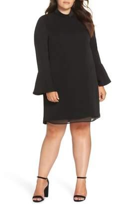 Glamorous Bell Sleeve Shift Dress