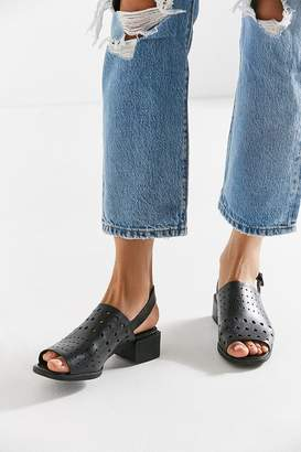 Camper Perforated Leather Sandal