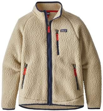 Patagonia Boys' Retro Pile Fleece Jacket