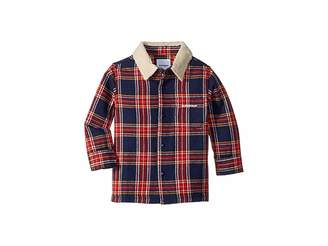SUPERISM Lincoln Flannel Shirt w/ Sherpa Collar (Toddler/Little Kids/Big Kids)