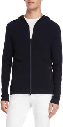 American Designer Navy Zip Hoodie Sweater