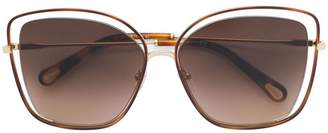 Chloé Eyewear oversized sunglasses