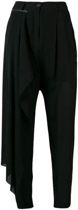 Isabel Benenato removable panel trousers