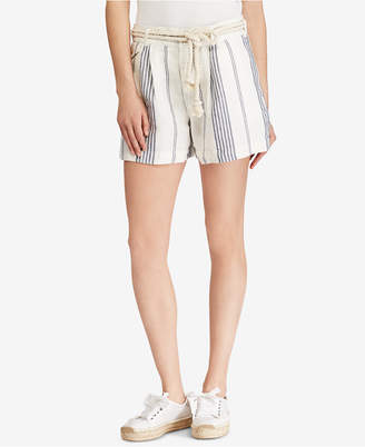 Polo Ralph Lauren Striped Linen Shorts