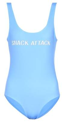 Ganni Exclusive to mytheresa.com – Snack Attack swimsuit