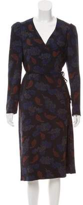 Dries Van Noten Printed Wrap Dress