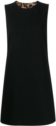 Dolce & Gabbana round neck mini dress