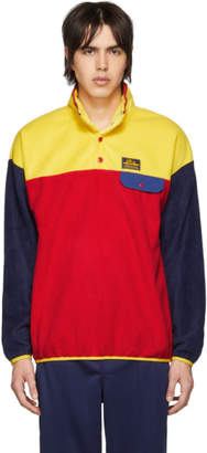 Leon Aime Dore Yellow Polar Fleece Pullover