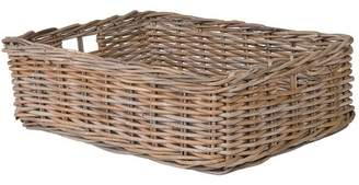 August Grove Mowery Shelf & Under Bed Rattan Basket