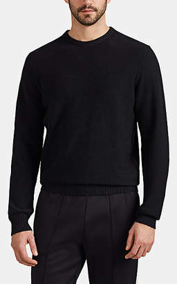 Barneys New York Men's Active Cashmere® Crewneck Sweater - Black