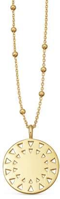 Missoma Cut Out Disc 18kt Gold Vermeil Necklace
