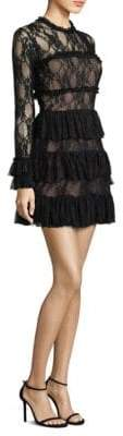 Bailey 44 Tiered Lace Dress