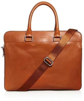 Cole Haan Men's Leather Warner Briefcase - 100% Exclusive
