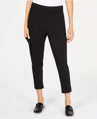 Eileen Fisher Tencel Slouchy Cropped Pants, Regular & Petite
