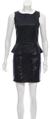 Emilio Pucci Sleeveless Leather Dress
