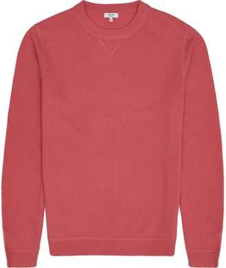 Reiss Pembroke - Lambswool Cashmere Blend Jumper in Pink
