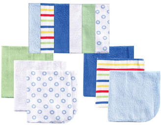 Baby Vision Luvable Friends Washcloths, 12-Pack, Blue, One Size