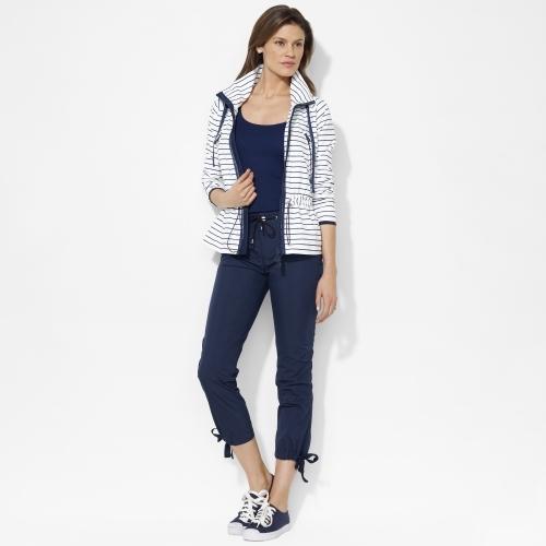 Ralph Lauren Striped Drawcord Jacket