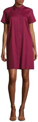 Lafayette 148 New York Women's Shaylin Linen Shirtdress