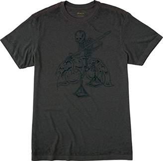 RVCA Men's Mortal Justice Short Sleeve T-Shirt
