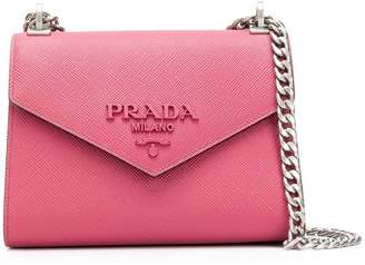 Prada monochrome cross body bag
