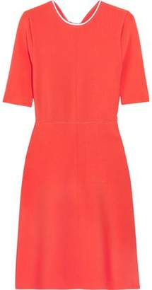 Victoria Beckham Victoria Open-Back Ribbed Stretch-Jersey Dress