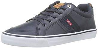 Levi's Footwear and Accessories Men's Turner Trainers, (Brown 28)