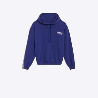 Balenciaga logo printed hooded sweater