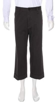Y's by Yohji Yamamoto Cropped Herringbone Pants