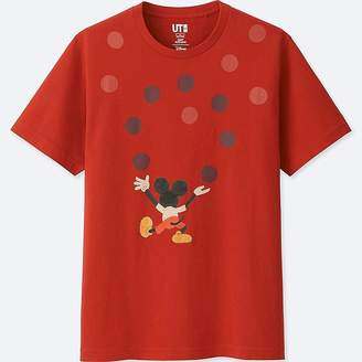 Uniqlo Mickey Art Short-sleeve Graphic T-Shirt (geoff Mcfetridge)