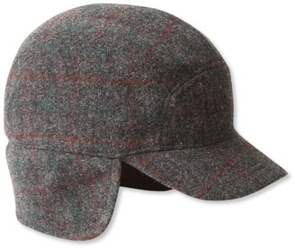L.L. Bean L.L.Bean Maine Guide Wool Cap with Primaloft, Plaid